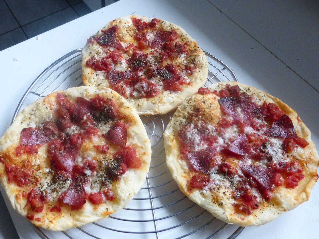 Pizza Mit Quark ölteig Trudels Glutenfreies Kochbuch