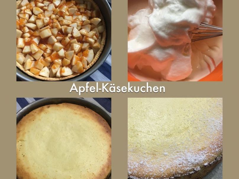Apfel Kasekuchen Trudels Glutenfreies Kochbuch